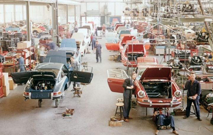 Fábrica de Porsche en Zuffenhausen: los 911 | Foto: Porsche AG