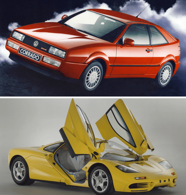 Volkswagen Corrado & McLaren F1 | VW, Tom Hartley Jnr
