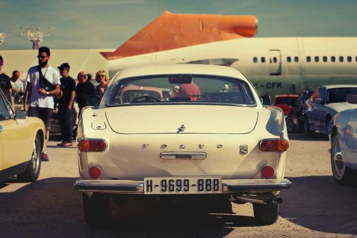 Volvo P1800 en Cuatro Vientos (Madrid)