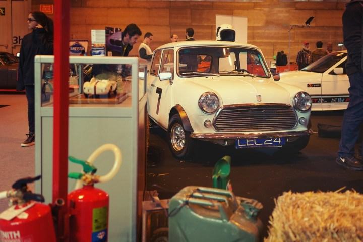 Mini en Retromóvil de Madrid