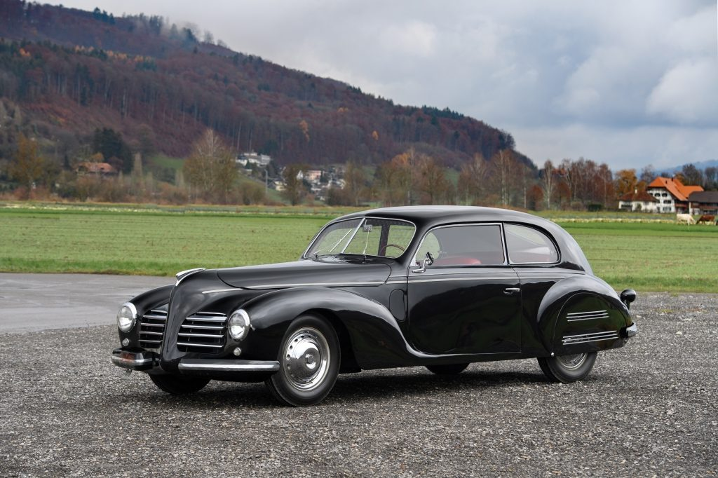 RM Sotheby's 1940-Fiat-2800-Berlinetta-by-Touring sin vender