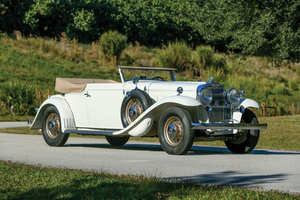 RM Sotheby's 1932 Stutz DV-32 Convertible Victoria by Rollston $863,000