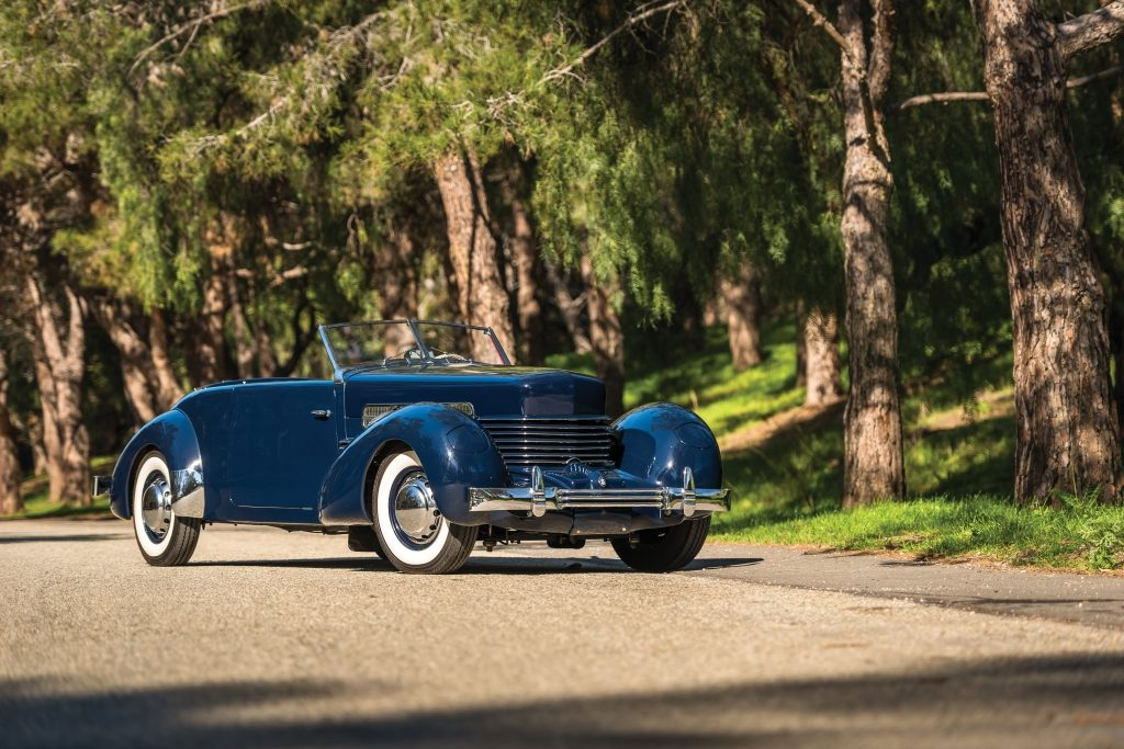 RM Sotheby's 1937 Cord 812 Supercharged Phaeton $196,000