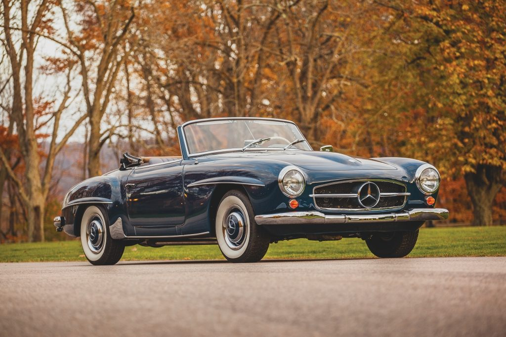 RM Sotheby's 1956 Mercedes-Benz 190 SL $184,800