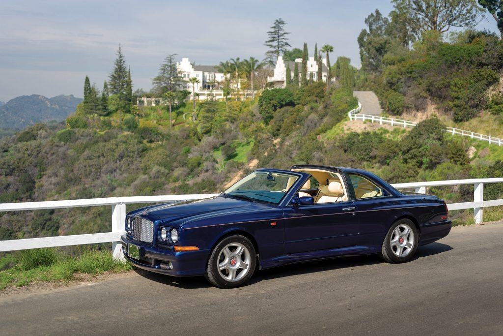 RM Sotheby's 1999 Bentley Continental SC $212,800