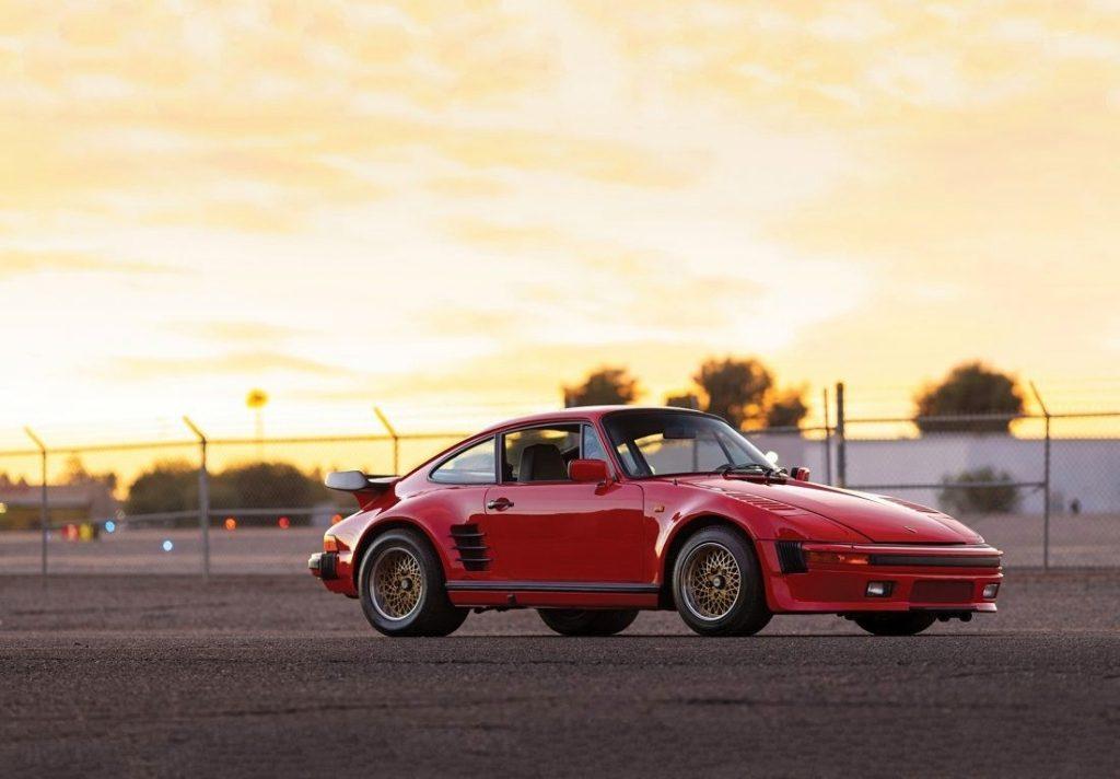 Russo and Steele 1985 Porsche 930 Prototype