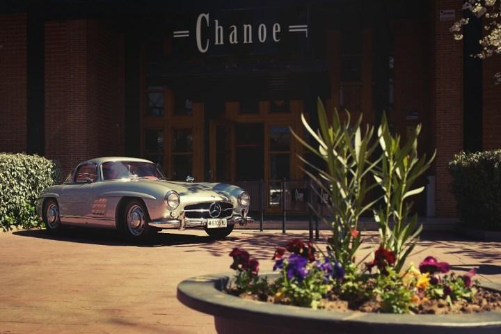 Mercedes-Benz 300 SL en Sala Chanoe de Madrid