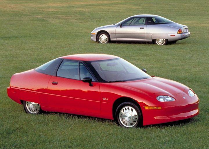 Historia de los coches eléctricos: General Motors EV1