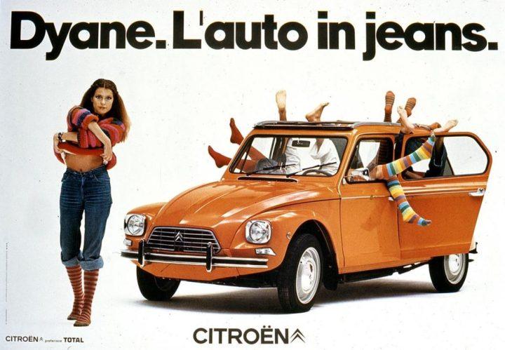 Citroën Dyane anuncio | Crédito imagen: Grupo PSA