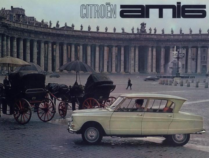 Citroën Ami 6 anuncio | Crédito imagen: Grupo PSA