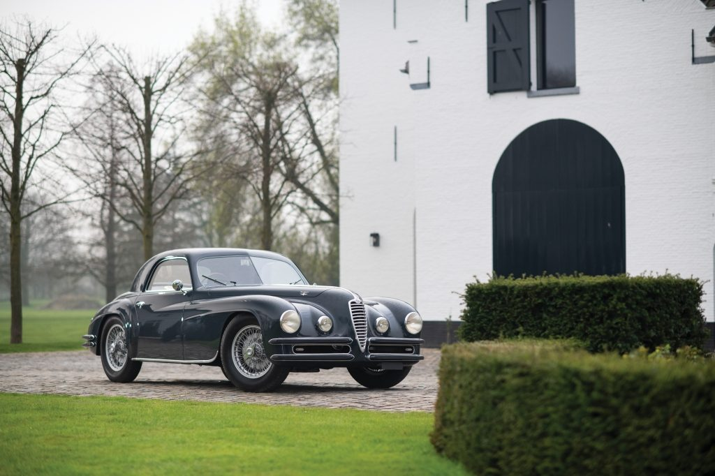 Alfa Romeo 6C 2500 Super Sport Coupé by Touring (1948) 610.000 €