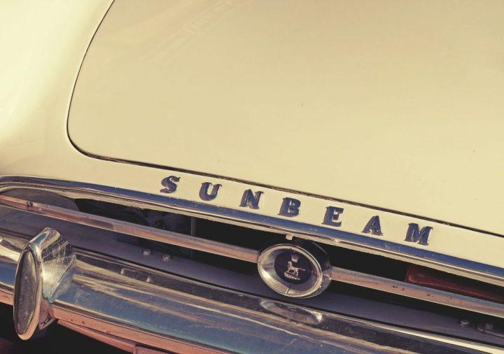 Tipografía Sunbeam Alpine