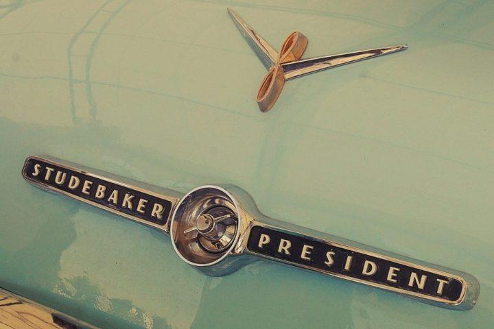 Typography Studebaker President