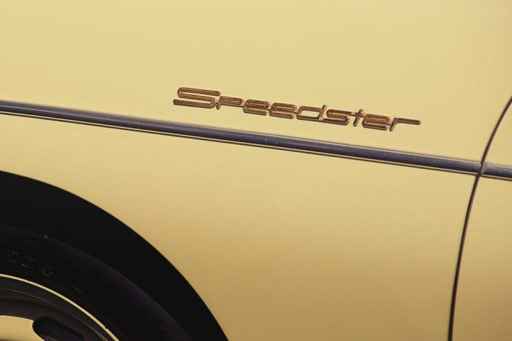 Typography Porsche 356 Speedster
