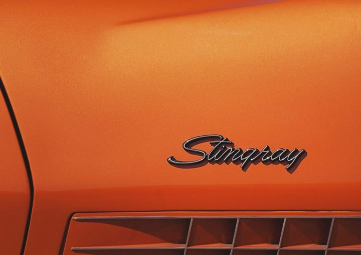Tipografía Chevrolet Corvette Stingray