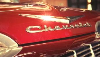 Tipografía Chevrolet Bel Air