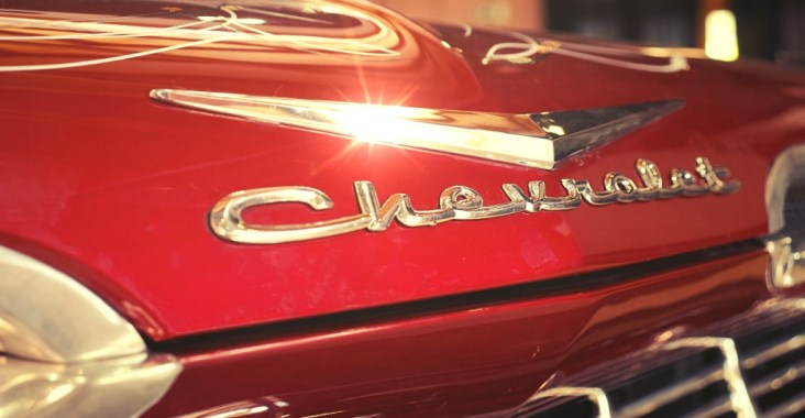 Tipografía Chevrolet Bel Air