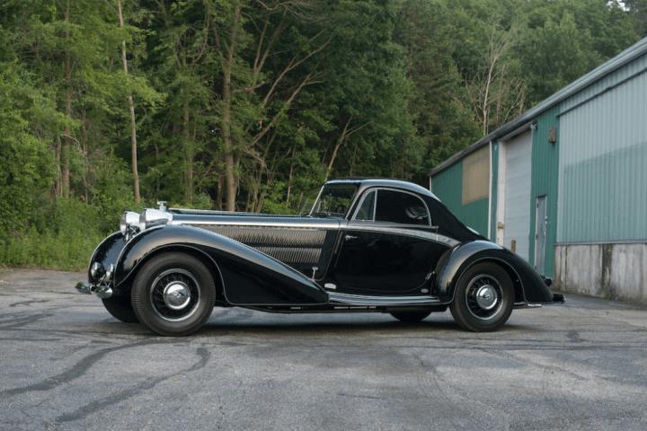Bonhams 1937 Horch 853 Spezial Streamlined Coupe 'Manuela' sin vender