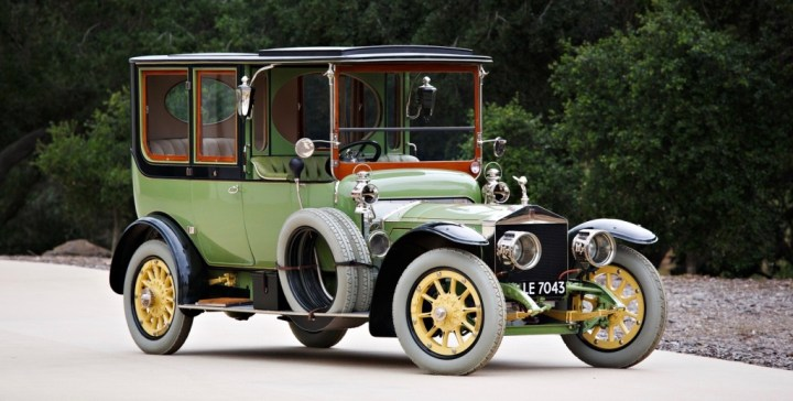 Gooding & Company 1911 Rolls-Royce 40/50 HP Silver Ghost Limousine $ 940,000
