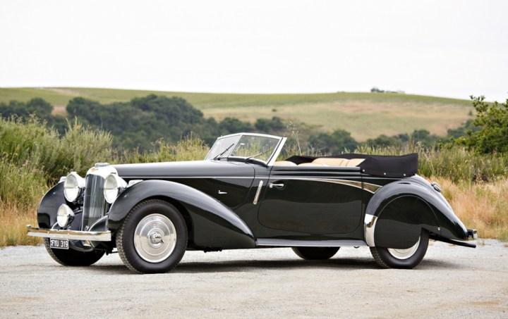 Gooding & Company 1939 Lagonda V-12 Rapide Drophead Coupe sin vender
