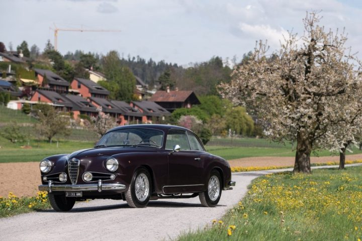 RM Sotheby's 1955 Alfa Romeo 1900C Super Sprint Coupe by Touring $ 224,000