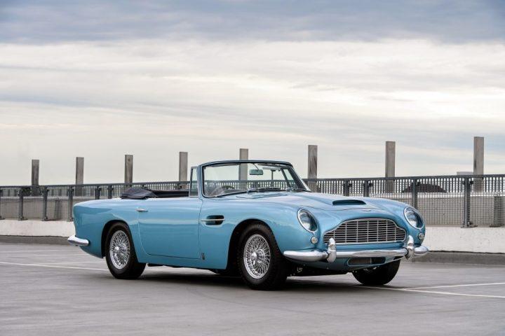 RM Sotheby's 1963 Aston Martin DB5 Convertible $ 1,325,000