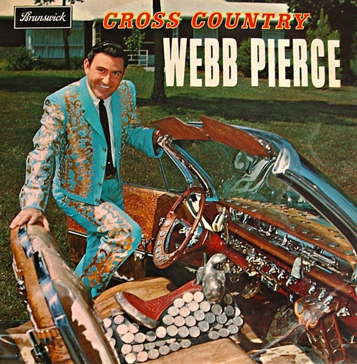 Webb Pierce - Cross Country