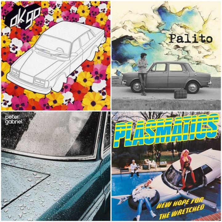 OK Go - OK Go · Palito - Palito · Peter Gabriel - Peter Gabriel · Plasmatics - New hope for the wretched