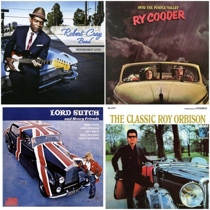 Robert Cray Band - Nothin but love · Roy Orbison - The classsic Roy Orbison · Ry Cooder - Into The Purple Valley · Screaming Lord Sutch - Lord Sutch and Heavy Friends