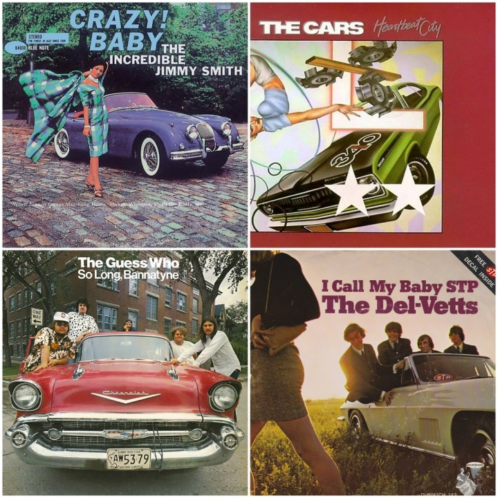 The Cars - Heartbeat City · The Del-Vetts - I call my baby STP · The Guess Who - So long, Bannatyne · The Incredible Jimmy Smith - Crazy baby