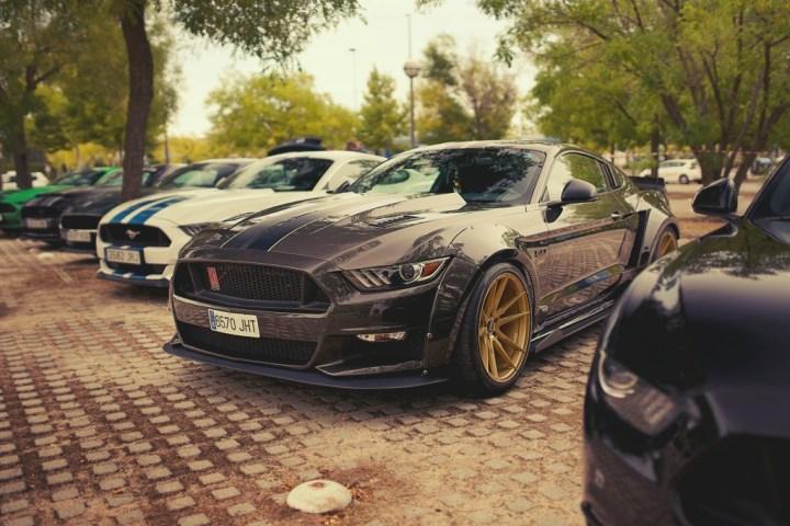 Ford Mustang front en Sala Chanoe