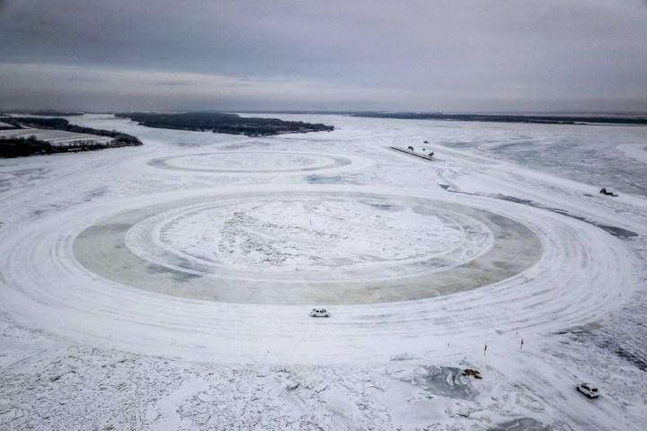 Río Amur test coches eléctricos