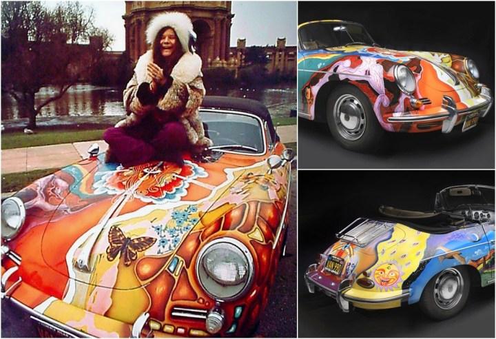 El Porsche 356 de Janis Joplin