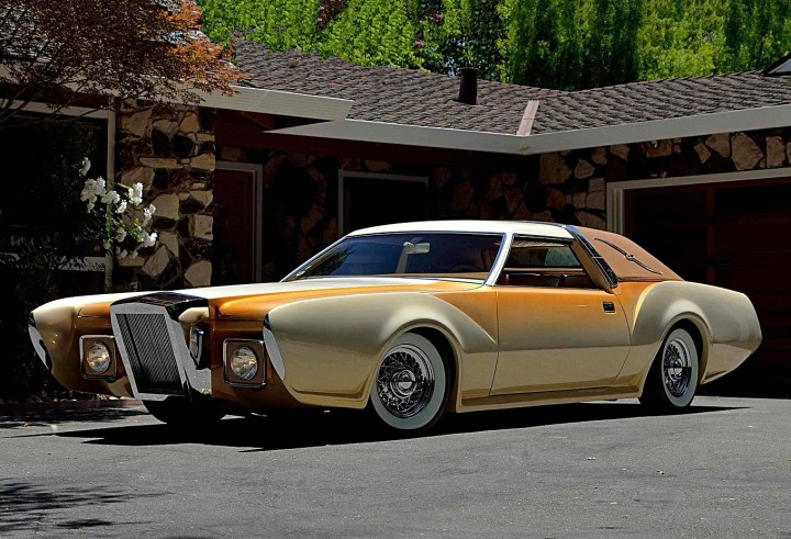 """Bugazzi"" Lincoln Continental Mark IV de 1973 George Barris"