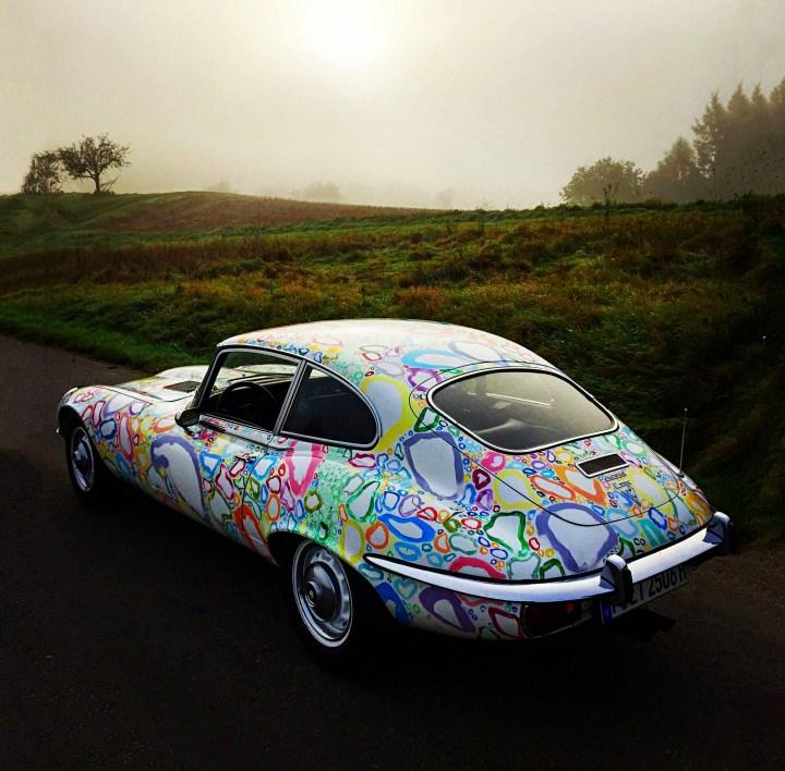 El Jaguar E-Type diseñado por Luzius Ziermann
