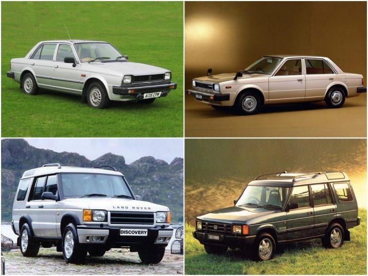 Badge engineering: Triumph Acclaim, Honda Ballade, Land Rover Discovery y Honda Crossroad