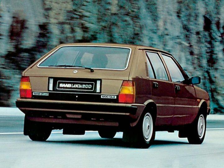 Badge engineering: Saab Lancia 600