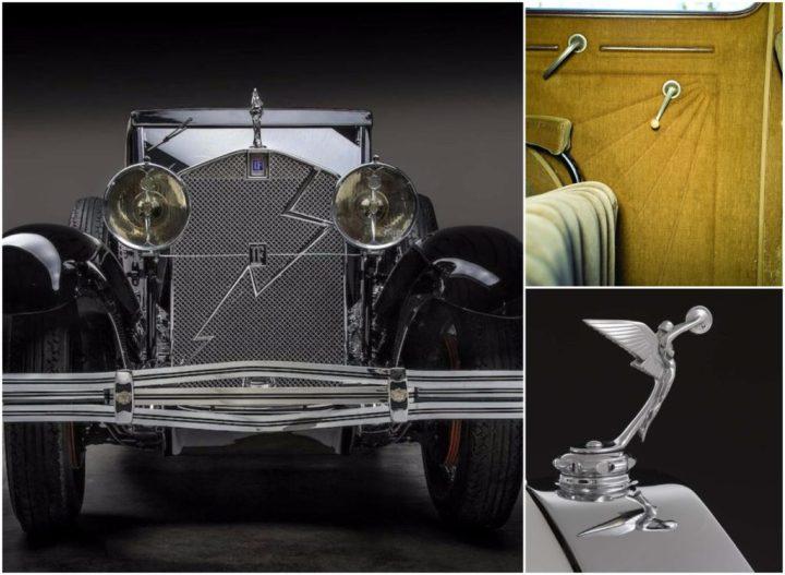Isotta-Fraschini Tipo 8A SS de 1930 con motivos puramente Art Déco