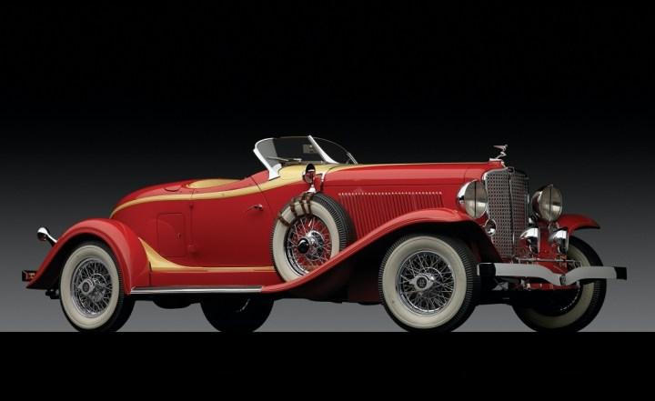 Auburn V12 161A Boattail Speedster de 1933