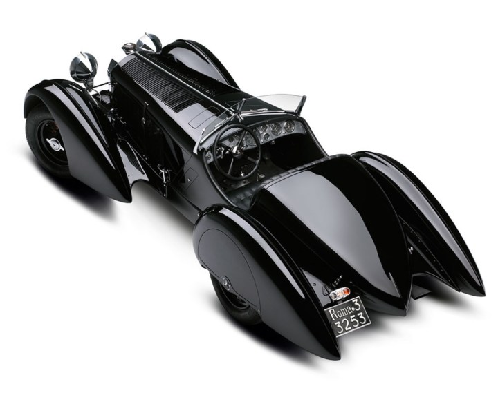 Mercedes-Benz-SSK-Count-Trossi de 1930 re-carrozado en 1934