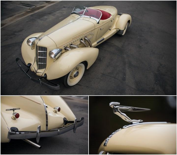Auburn 851 Speedster de 1935 diseñado por Gordon Buehring, una obra maestra del diseño aerodinámico