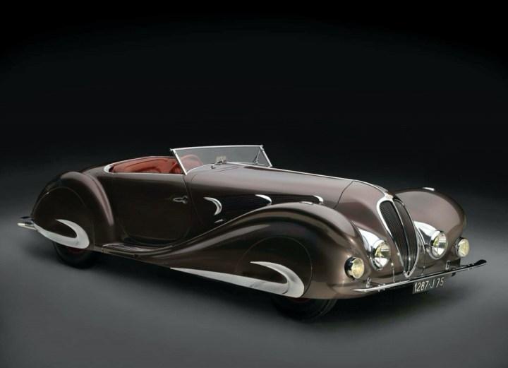 Delahaye 135MS Roadster diseñado por Figoni & Falaschi de 1937