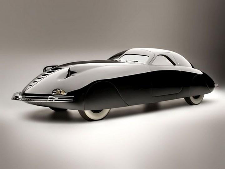 El espectacular Phantom Corsair de 1938 fue quizás el diseño aerodinámico más extremo de la época y quedó en un sólo prototipo.