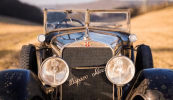 1926 Hispano-Suiza H6B Convertible Phaeton Derham | Bonhams