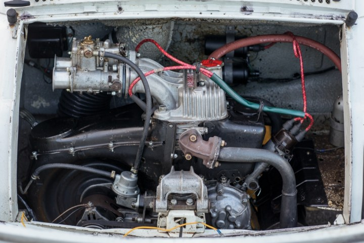 Abarth 695 SS (1966) | RM Sotheby's engine
