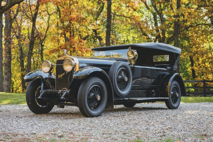 1921 Hispano Suiza H6B Tourer by Chavet