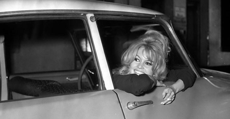 Brigitte Bardot & Citroën DS