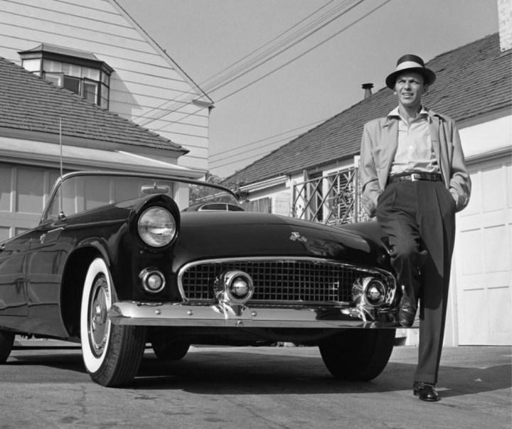 Frank Sinatra y su Ford Thunderbird del '55 | Frank Worth