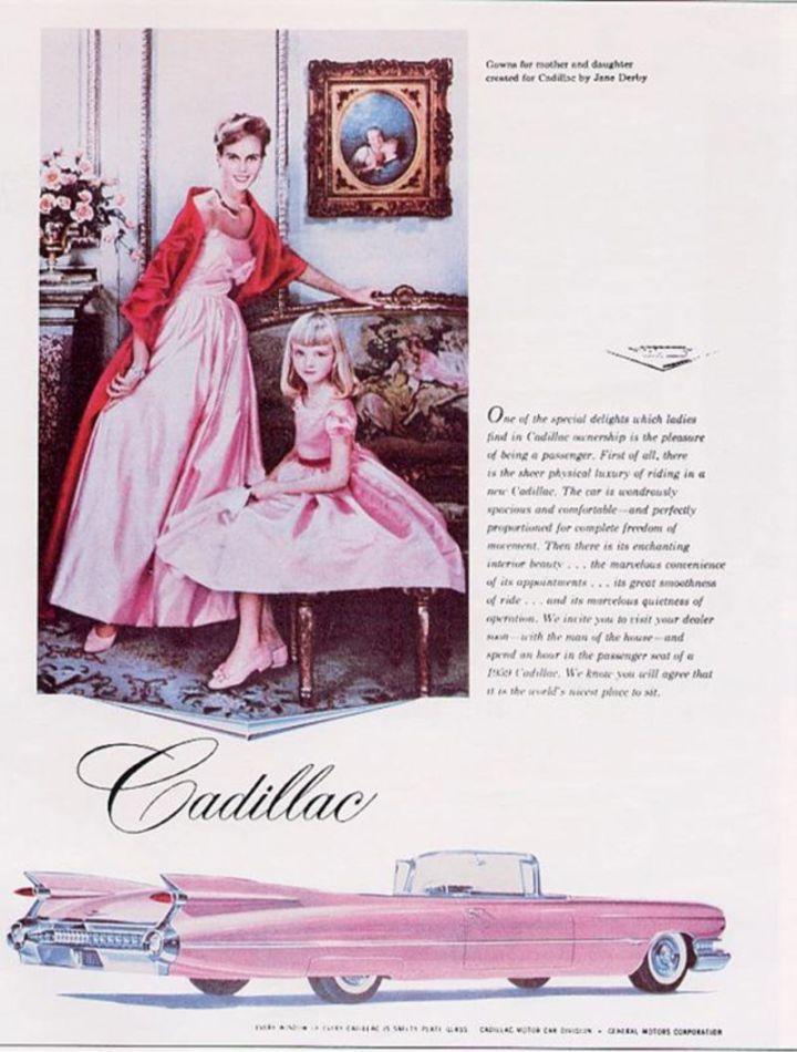 Mujer historia automóvil: Cadillac