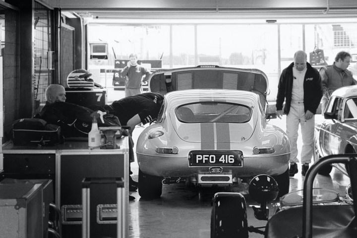 E-Type garage